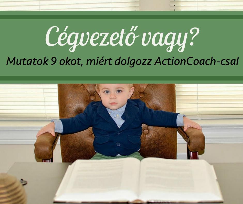 13 hónapos ActionCoach mentori program